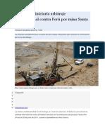 Bear Creek Iniciaría Arbitraje Internacional Contra Perú Por Mina Santa Ana