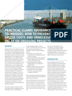 Article Practical Claims Avoidance Techniques How to Prevent Excess Costs and Unnecessary Delay on Dredging Projects Terra Et Aqua 134 2