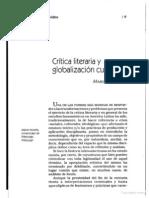 Critica Literaria y Globalizacion Cultural Moraña