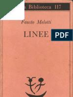 Fausto Melotti - Linee