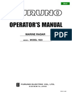 Furu No 1623 Manual