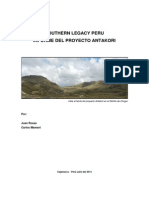 Informe Del Proyecto Antakori_lima_peru