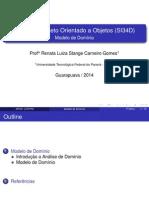 Modelo de Domínio_slides