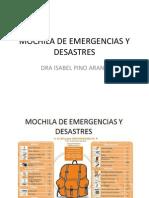 Mochila de Emergencias y Desastres