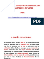 Adherencia Long de Desarrollo y Empalme