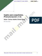 Ingles Espanoles Pronunciacion