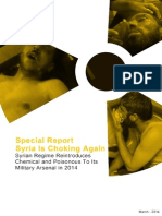 Syrian Regime Reintroduces Chemical and Poisonous Weapons