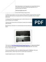 Memperbaiki Keyboard