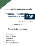 Tratores- Transmissao Mecanica e Pneus