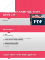 Penyusunan Anasir Gigi Tiruan Pada GTP
