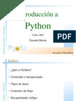 Introduccion a Python Por Facundo Batista