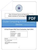 Cluster Computing in Android Based Devices
