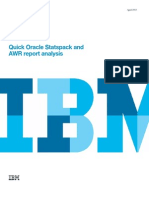 Quick Oracle Statspack and AWR Report Analysis - White Paper April 2013