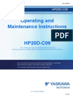 Operating and Mantenance HP20D