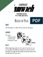 Slamwich RULES