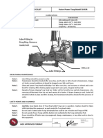 Maintenance Checklist - Foster Power Tong