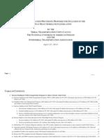TTUALegislativelanguage4!25!2014edition (2)TRIBAL TRANSPORTATION PROVISIONS PROPOSED FOR INCLUSION IN THE HIGHWAY REAUTHORIZATION LEGISLATION
