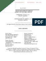 Tuaua v. United States, DC Circuit Joint Appendix