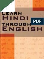 10.Learn Hindi Through English