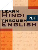 10.Learn Hindi Through English