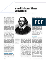 2014-04-18 Shakespeare - Mit Dem Medizinischen Wissen Seiner Zeit Vertraut - Aerzteblatt.de