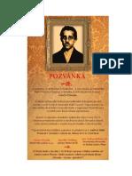 Poziv Na Parastos Gavrilu Principu u Pragu