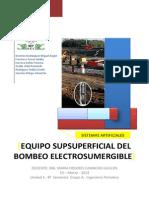 Componentes Supsuperficiales Del BEC