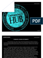 Opportunity Hub Equity Crowdfunding Pitch Deck