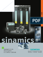 Productlines Siemens Siemens Drives and Motion Control Siemens Sinamics S120
