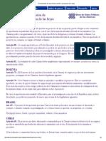 03. Decisiones Colectivas - Legislación Comparada Sobre Proyectos Desechados