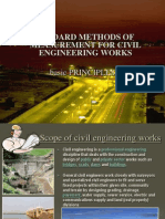 Standard Methods of Measurement for Civil Engineering