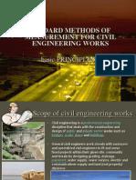 Standard Methods of Measurement for Civil Engineering