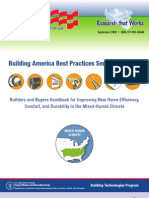 Building America Best Practices Mixed Humid Climates