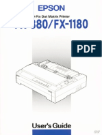 Manual Epson FX-880