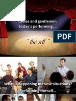 Erving Goffman - Presentation