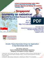 Editor-In-Chief, Nanoscience & Nanotechnology Letter (NNL) Principal Editor , Journal