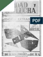 Unidad y Lucha 060 EXT Agosto 1982