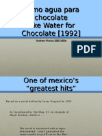 Agua Para Chocolate
