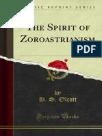 The Spirit of Zoroastrianism