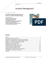 2008 TRIZ and Innovation Management