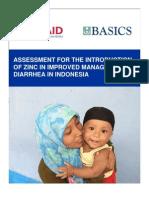 Indonesia Zinc Assessment
