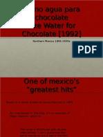 Agua Para Chocolate 2