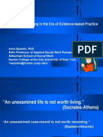 Clinical Data-Mining in the Era of Evidence-based Practice, Epstein
