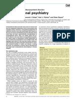 Computational Psychiatry, Montague 2012