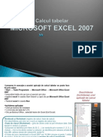 Excel_ Calcul Tabelar