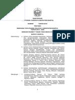 Perda RTRW Kab Bantul 2010-2029