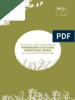 Estudio de Caracterización del Patrimonio Cultural Inmaterial Rural de La RM 2013 CNCA