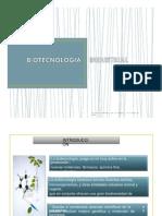 Biotecnología Industrial 1ra Unidad
