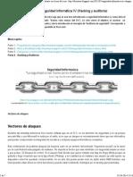 Seguridad Informatica IV (Hacking y Auditoría)