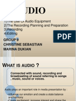 Presentation Audio